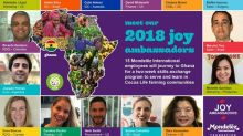 Mondelēz International Employees Journey to Cocoa Life Communities for Skills-Exchange Mission
