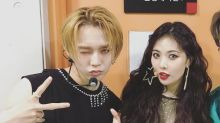 K-pop stars HyunA and E'Dawn sacked by agency after revealing their relationship