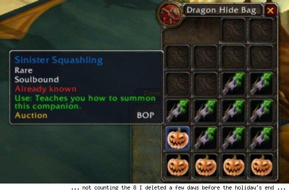 Holiday pets will no longer be soulbound in patch 4.3
