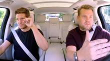 Michael Bublé llora recordando el cáncer de su hijo en 'Carpool Karaoke'