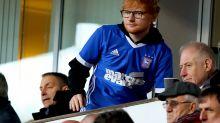 Ed Sheeran is the new shirt sponsor for Ipswich Town football club
