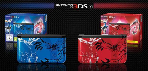 Nintendo's new Pokemon XY edition 3DS XLs get Legendary on September 27th