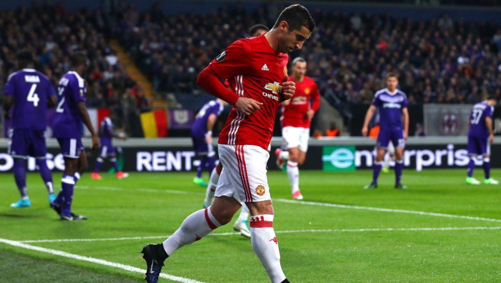 Ibrahimovic, Dolberg & Mkhitaryan lead Europa League Team of the Season