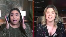 Kelly Clarkson shocks 'Voice' contestant with once-in-a-lifetime opportunity: 'Toneisha has a gig in2021!'
