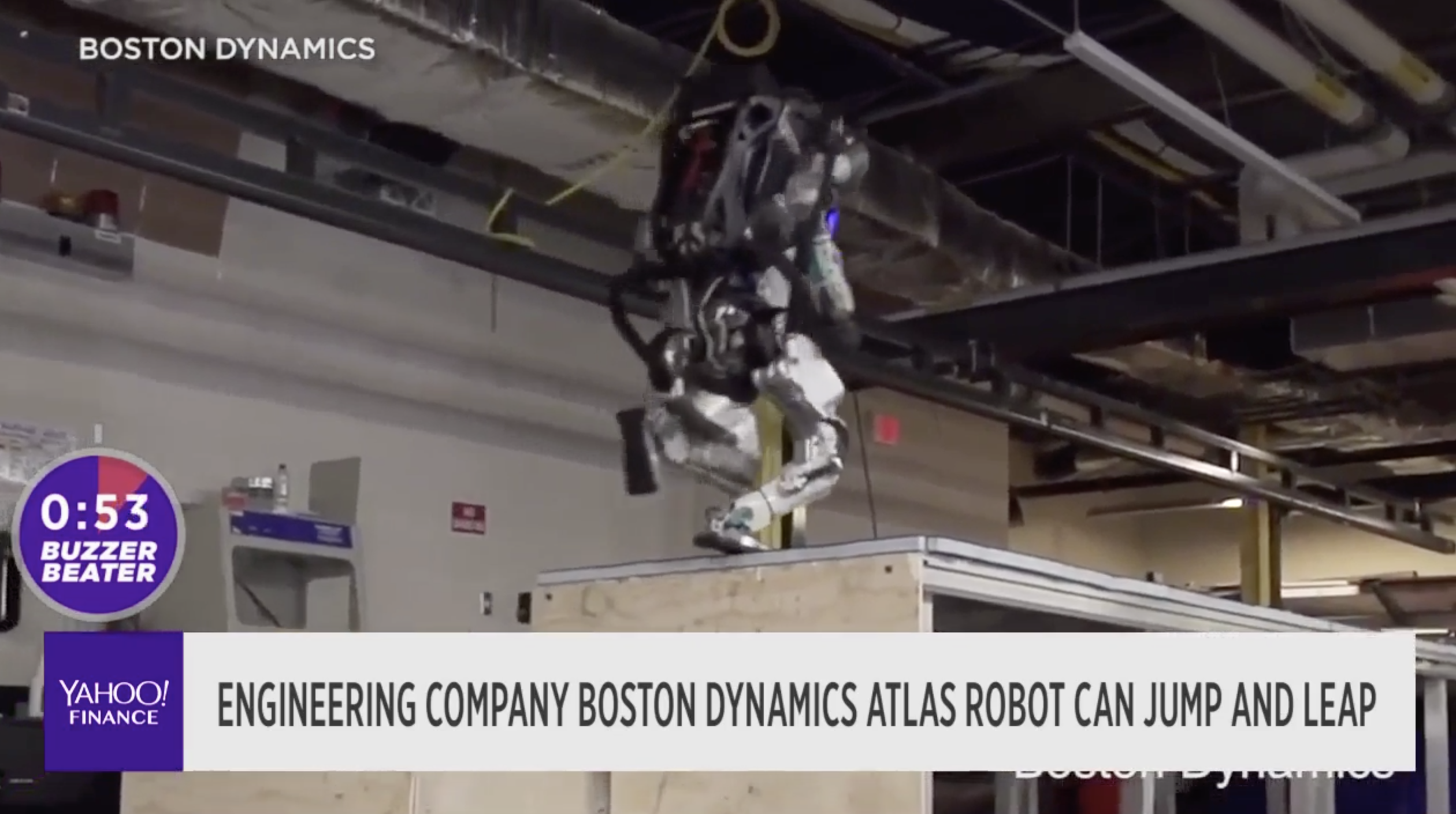 This Robot Can Run Jump And Leap Video