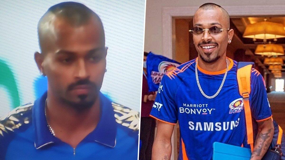 Hardik Pandya Sports New Hairstyle in MI vs KXIP Match in Dream5