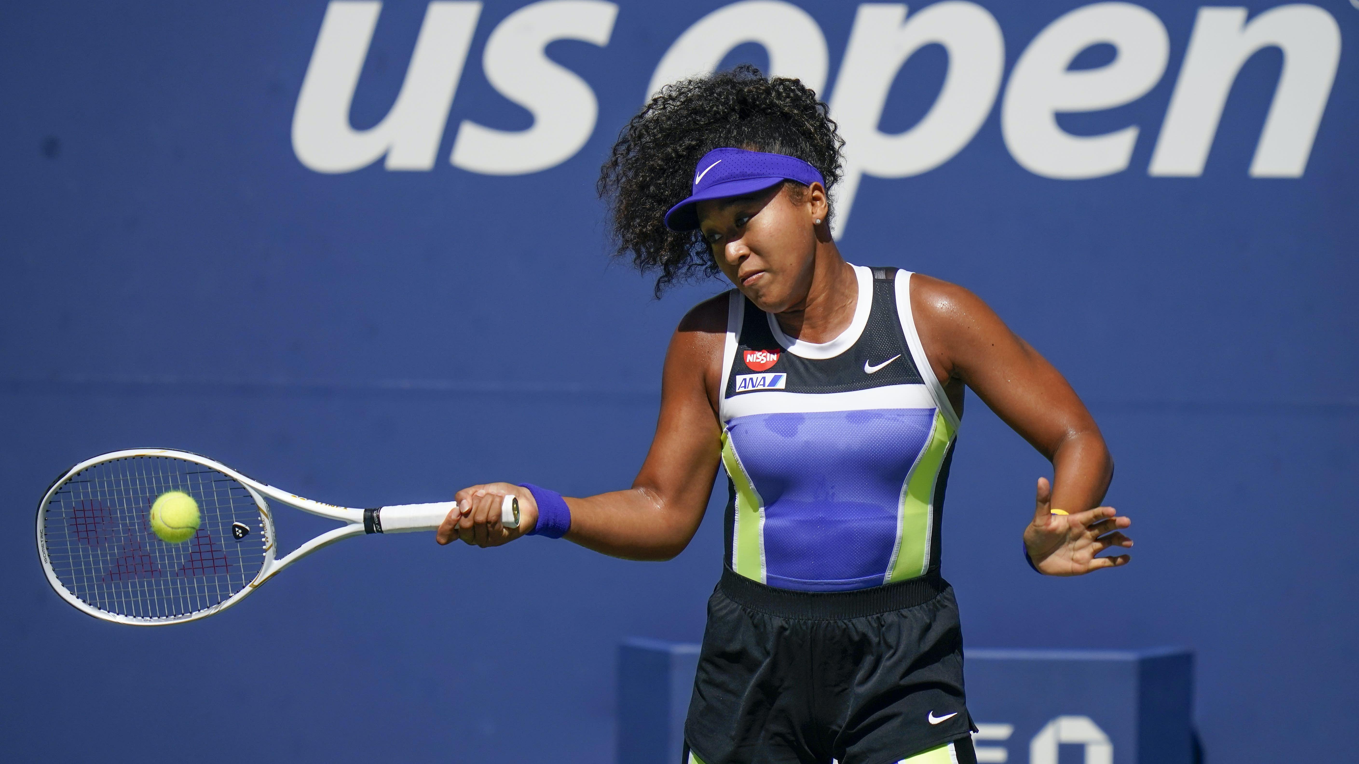 Naomi Osaka survives scare to reach US Open fourth round