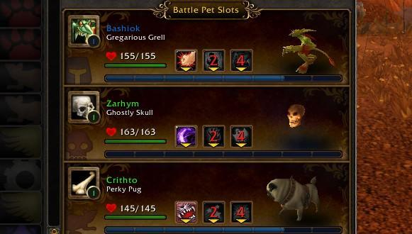 Breakfast Topic: What's your Pet Battle team?