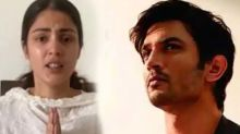 Rhea Chakraborty breaks silence on allegations of giving drugs to Sushant Singh Rajput