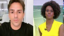 'Maju Coutinho é horrível e só está lá por causa da cor', diz Rodrigo Branco