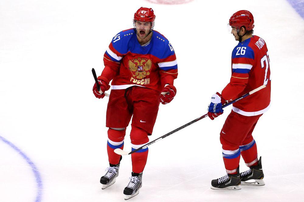 Ice Hockey - Winter Olympics Day 11 - Russia v Norway