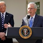 Trump and McConnell downplay White House attacks on Senate GOP