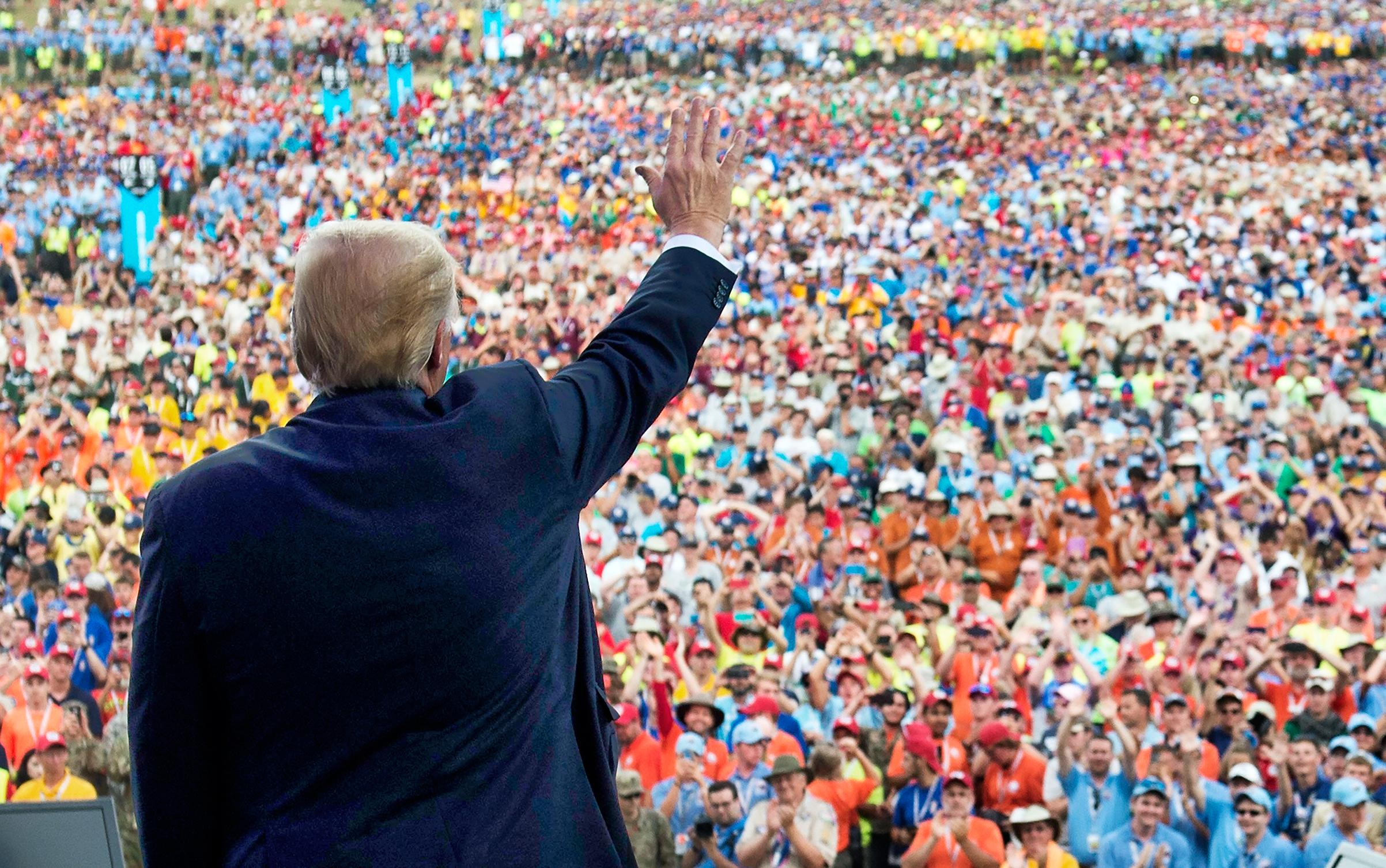 Boy Scouts 'Unaware' of Call Trump Said He Received From Organization Praising Jamboree Speech