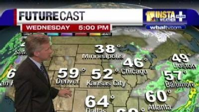 Traveling To Grandma's? Check Tom's Forecast First