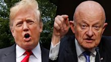 Trump claims Clapper 'admitted' the FBI spied on his campaign. But Clapper said the opposite.