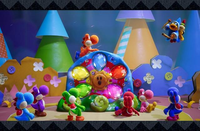 'Yoshi's Crafted World' for Switch is coming out on March 29th
