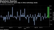 Xi's Blockchain Push Triggers Frenzy in China Technology Stocks
