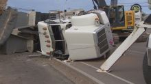 Dump truck rollover cause determined, says police