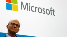 In Mumbai, Microsoft boss Nadella trumpets cloud tie-up with Reliance