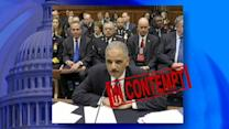 Attorney General Eric Holder Held in Contempt of Congress