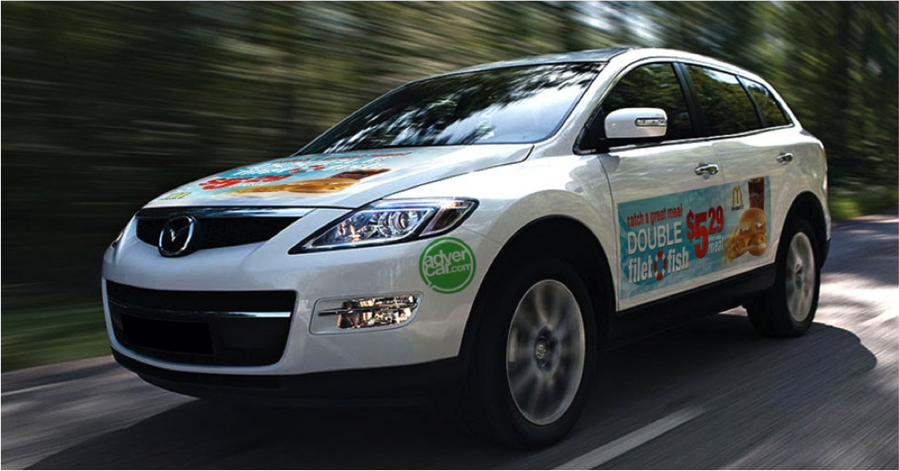 Get Paid For Car Wrap Advertising: How To Get Paid For Driving Your Own Car