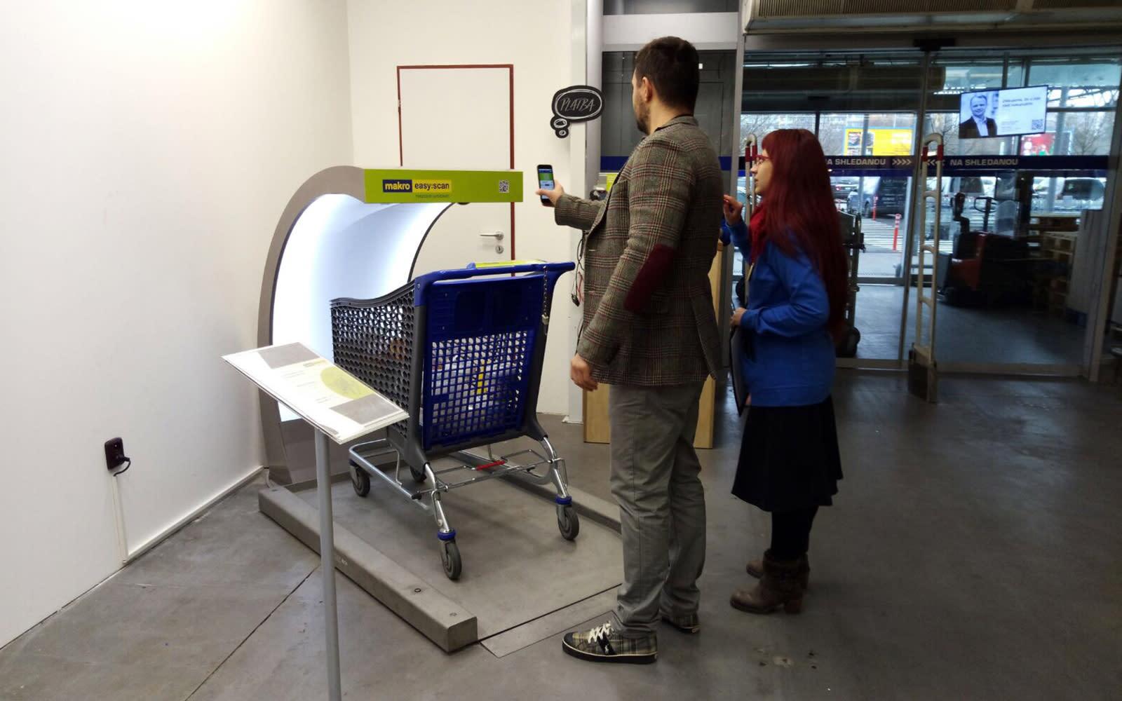 sweden lets shoppers scan - HD1600×1000