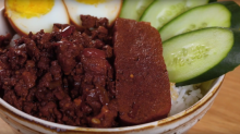 Peiwen's Meal for Two – Taiwanese Braised Pork with Rice