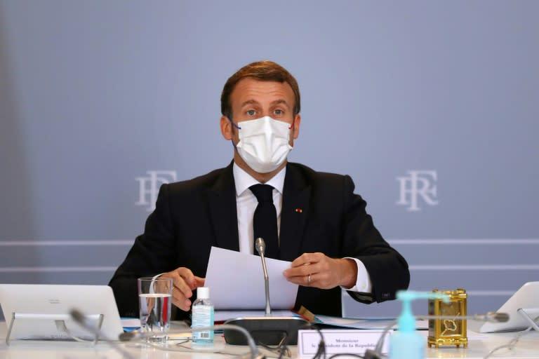 Macron criticizes media over coverage of Islamic extremism