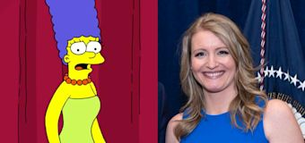 'The Simpsons' matriarch Marge responds to insult