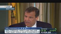 Gov. Christie: I didn't dig hole in pension system
