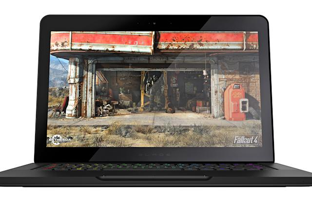 Razer's updated Blade gaming laptop has a slimmed-down design