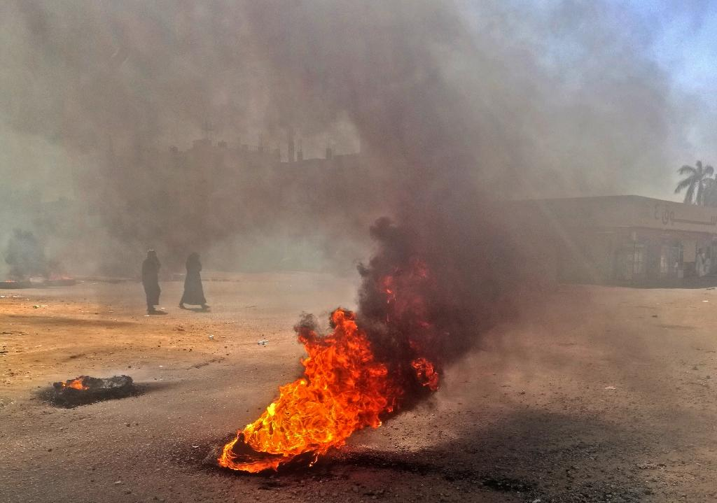 Sudan's protests have sparked a government crackdown but President Omar al-Bashir has defied calls to step down (AFP Photo/-)