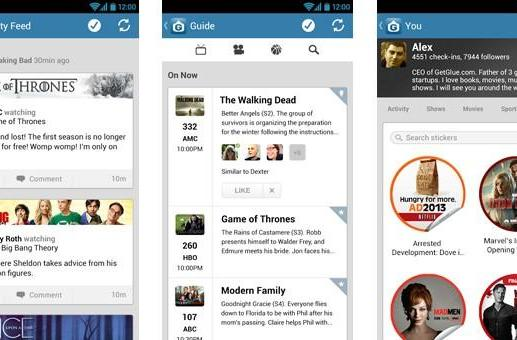 GetGlue for Android update brings personal guides, second screen sharing