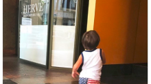 Shah Rukh Khan gets poetic as little AbRam runs to him. See pic