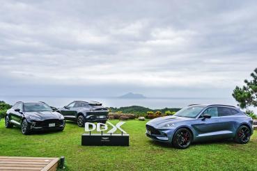 美型也霸氣!英倫跑旅Aston Martin DBX首批實車登台亮相