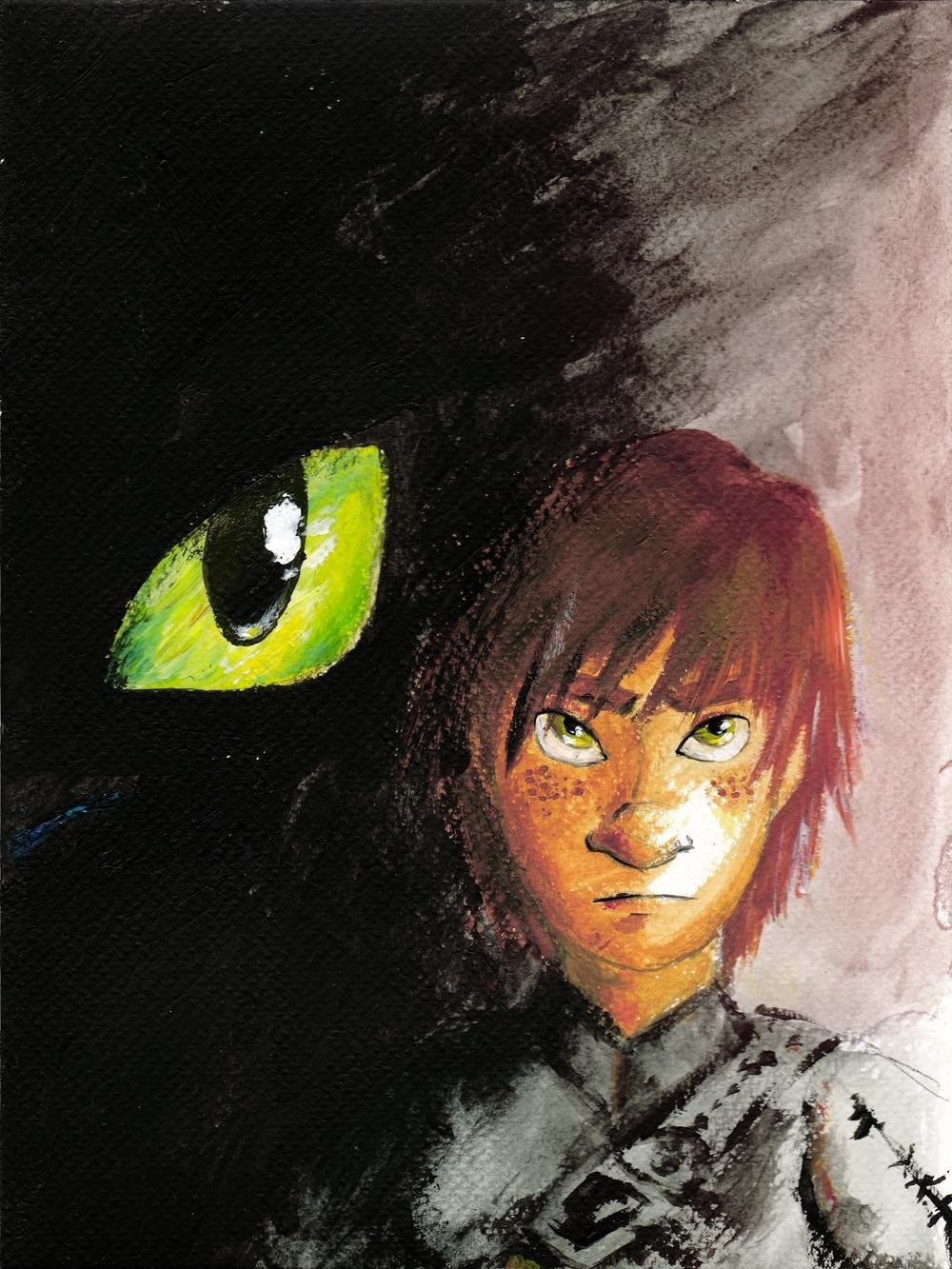 A Brooding Hiccup & Toothless · Yahoo Movies · How To Train Your Dragon 2 ·