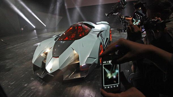 at its own 50th anniversary party in italy on saturday lamborghini unveiled this surprise a one off car from designer walter de - Lamborghini Egoista Police