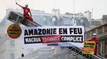 Incendies en Amazonie : Emmanuel Macron pointé du doigt par Greenpeace