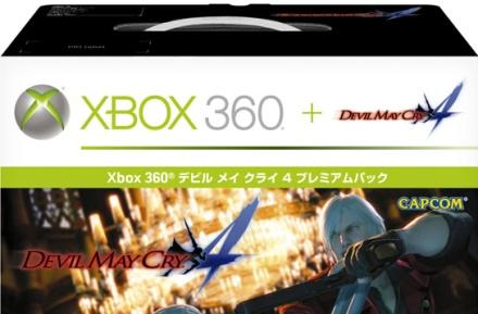 Xbox 360 Devil May Cry 4 bundle hitting Japan in January