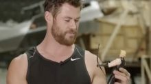 Chris Hemsworth reignites Civil War feud with hilarious behind-the-scenes Avengers video
