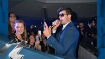 Music Minute News Pop: Robin Thicke Lays It On THICK 4 The Rest Of My Life!
