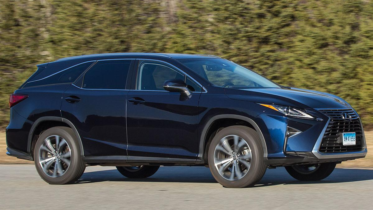 Lexus 3rd Row >> 2018 Lexus Rx L Adds A Cramped Third Row But We Love The Extra