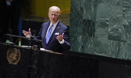 Biden promises end to 'relentless war' and start of 'relentless diplomacy'