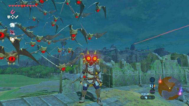 The new 'Zelda' DLC is all about exploration and survival