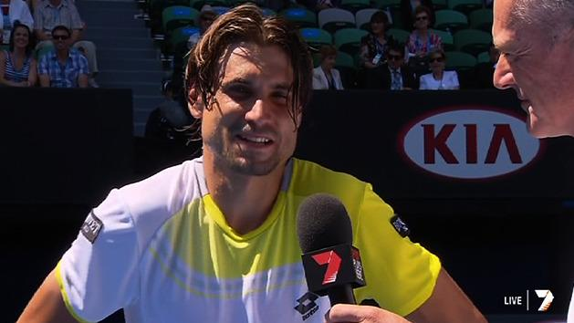 Post Match Interview: David Ferrer