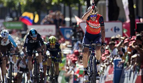Radsport: Vuelta: Nibali gewinnt Abtasten der Favoriten - Froome im Roten Trikot