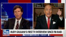 Rudy Giuliani tells Tucker Carlson what happened during FBI raid in bizarre interview