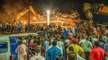 Desabamento na Índia deixa ao menos um morto; dezenas de pessoas estão soterradas