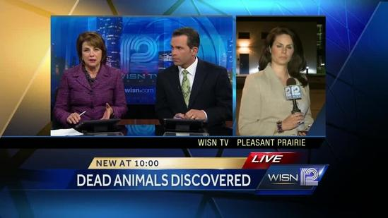 Investigators concerned about drinking water after dozens of animals found dead on local farm