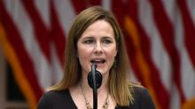 Amy Coney Barrett didn't disclose 2 talks with anti-abortion groups to the Senate